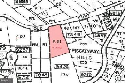 Fort Foote, Fort Washington, Friendly, Friendly Farms, Friendly Hills, North Fort Foote, South Fort Foote Residential Lots & Land For Sale: 13020 Old Fort Road