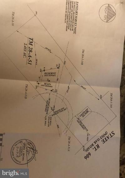 Spotsylvania Residential Lots & Land For Sale: 14008 Post Oak Road