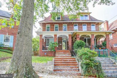 16th Street Heights Single Family Home For Sale: 1626 Montague Street NW