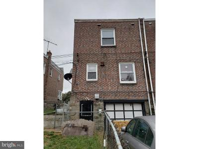 Philadelphia Single Family Home For Sale: 1203 Knorr Street