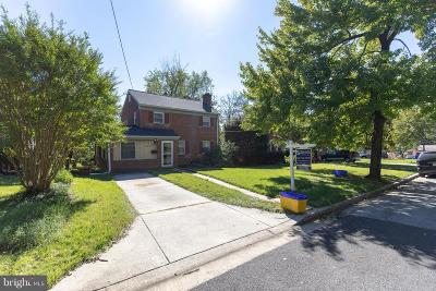 Cheverly Single Family Home For Sale: 5803 Dewey Street NW