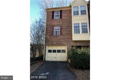 Upper Marlboro Townhouse For Sale: 14325 Governor Lee Place