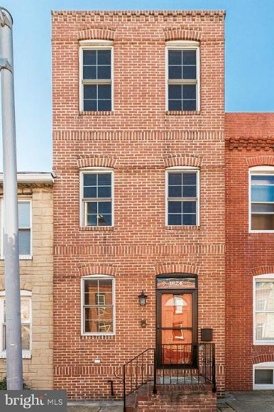 Federal Hill, Federal Hill - Riverside, Federal Hill South Townhouse For Sale: 1824 Light Street