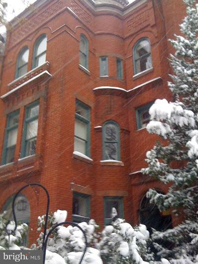 Logan Circle Townhouse For Sale: 1311 Rhode Island Avenue NW