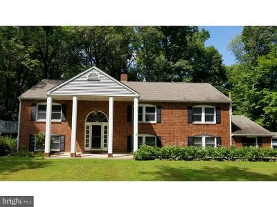 Bucks County Single Family Home For Sale: 1103 Bridgeton Hill Road