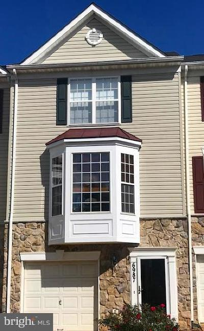 Alexandria Townhouse For Sale: 6987 Earlston Drive