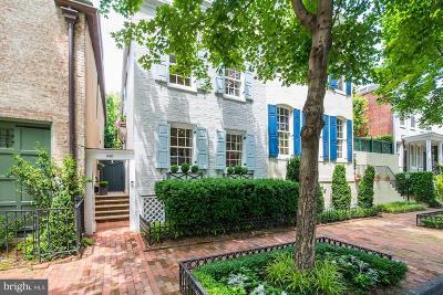 Washington Single Family Home For Sale: 3415 P Street NW