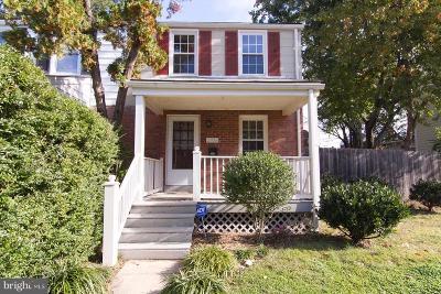 Alexandria Single Family Home For Sale: 2708 Albemarle