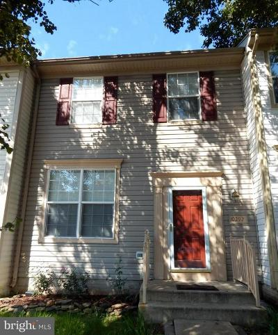 Manassas Townhouse For Sale: 10292 Butternut Circle