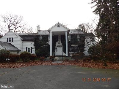 Princeton Single Family Home For Sale: 864 Lawrenceville Road