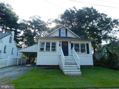 Wilmington DE Single Family Home For Sale: $89,900