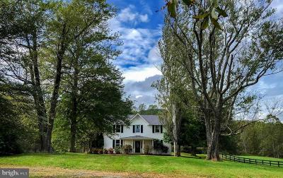 Rappahannock County Single Family Home For Sale: 765 Rudasill Mill Road