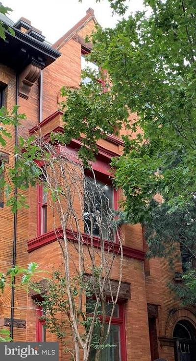Washington Townhouse For Sale: 1821 Kalorama Road NW