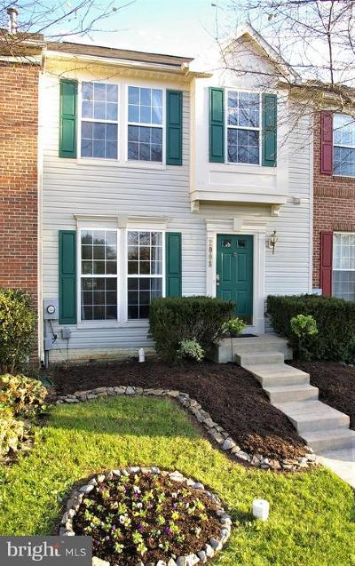 Frederick MD Townhouse For Sale: $262,500