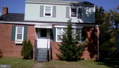 Hyattsville MD Single Family Home For Sale: $335,000