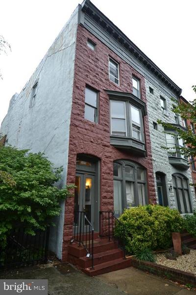 Baltimore Townhouse For Sale: 1625 Bolton Street
