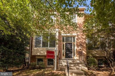 Rockville Townhouse For Sale: 5000 Cloister Drive
