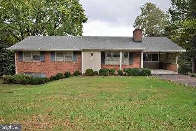 Warrenton Single Family Home For Sale: 8255 Lees Ridge Road