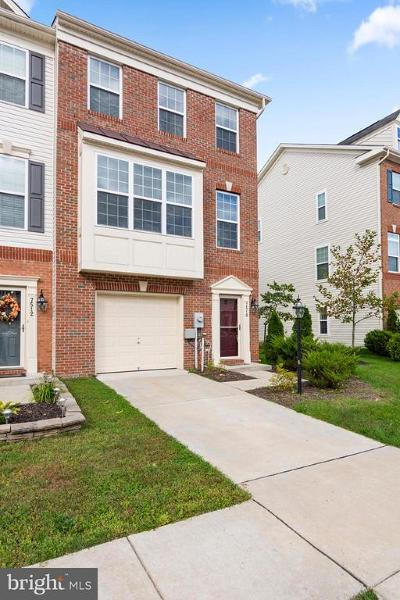 Glen Burnie Townhouse For Sale: 7510 Briargrove Lane