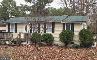 Colonial Beach Single Family Home For Sale: 1624 Lakeview Drive