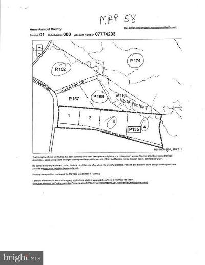 Anne Arundel County Residential Lots & Land For Sale: Patuxent River Road
