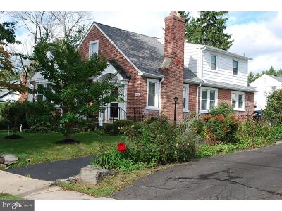 Ardmore Single Family Home For Sale: 2511 Belmont Avenue