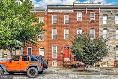 Pigtown Townhouse For Sale: 1014 Cross Street