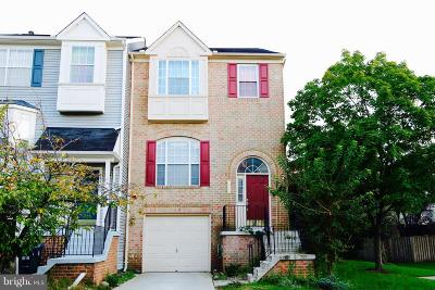 Centreville Townhouse For Sale: 5433 Crystalford Lane