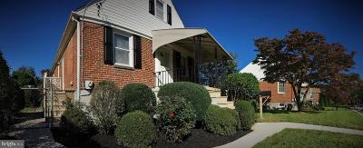 Baltimore Single Family Home For Sale: 8814 Baker Avenue