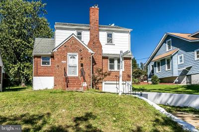 Baltimore Single Family Home For Sale: 5506 Carter Avenue
