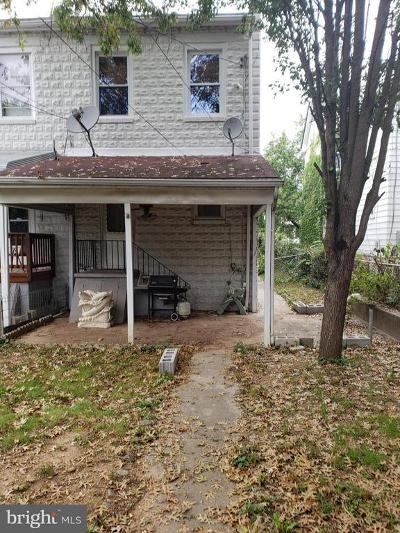 Baltimore Single Family Home Active Under Contract: 331 Washburn Avenue