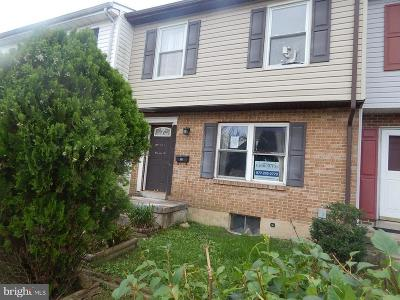 Edgewood Townhouse For Sale: 1414 Harford Square Drive