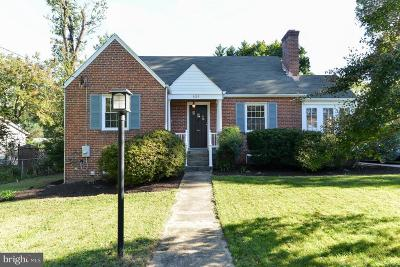 Silver Spring Single Family Home For Sale: 9123 Flower Avenue