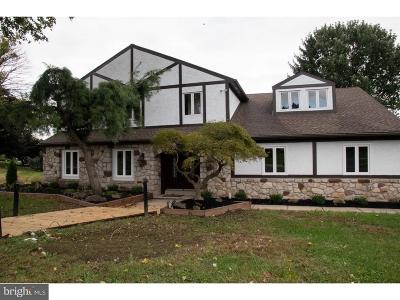 Huntingdon Valley Single Family Home For Sale: 105 Spring Flower Court