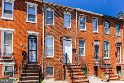 Baltimore Townhouse For Sale: 1132 W Lombard Street