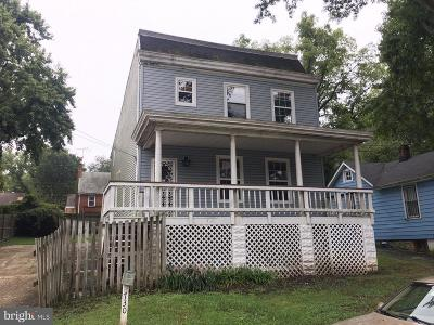 Capitol Heights Single Family Home For Sale: 730 Capitol Heights Boulevard
