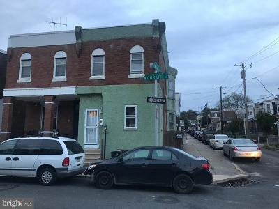 Philadelphia Single Family Home Active Under Contract: 1531 Womrath Street