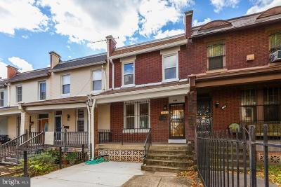 Columbia Heights Townhouse For Sale: 624 Irving Street NW