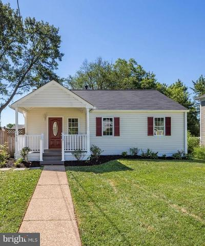 Falls Church Single Family Home Active Under Contract: 7529 Lisle Avenue