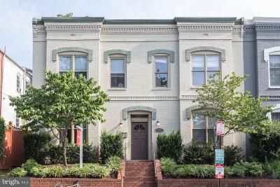 Capital Hill, Capitol Hill, Capitol Hill North, Capitol Hill Tower, Capitol Square At The Waterfront Single Family Home For Sale: 1116 C Street NE #101