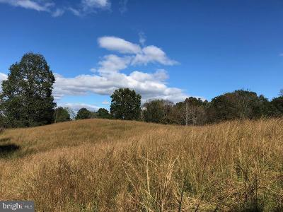 Rappahannock County Residential Lots & Land For Sale: Thorns Mill Run Lane