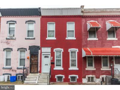 Brewerytown Townhouse For Sale: 2522 Nicholas Street