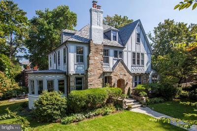 Chevy Chase Single Family Home For Sale: 5009 39th Street NW