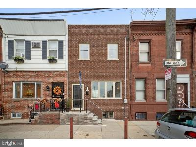 Point Breeze Townhouse For Sale: 1733 S 19th Street