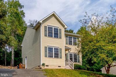 Fredericksburg Single Family Home For Sale: 3603 Ardwick Circle