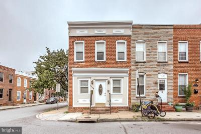 Federal Hill Townhouse Under Contract: 1740 Patapsco Street
