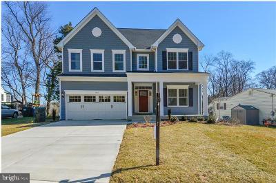 Prince William County, Fairfax County, Fredericksburg City, Fauquier County Single Family Home For Sale: 4870 Cherokee Avenue