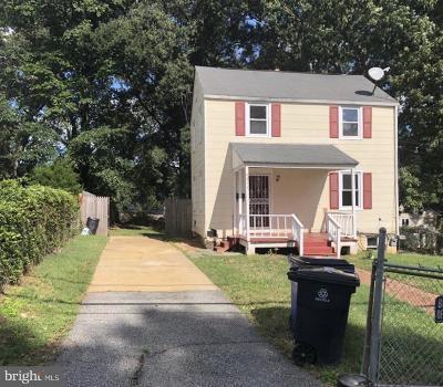 Hyattsville Single Family Home For Sale: 4211 71st Avenue