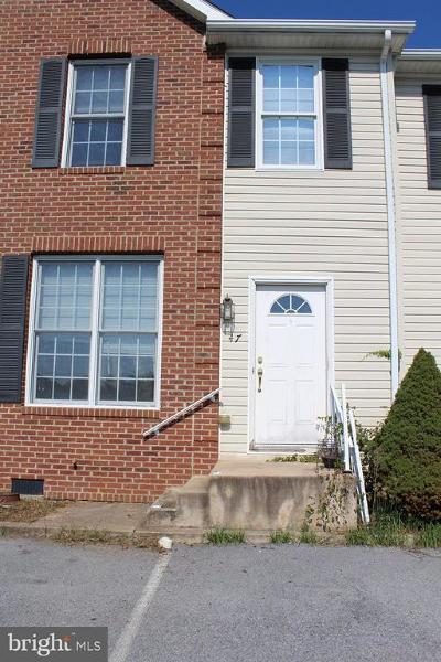 Luray Townhouse For Sale: 47 Yagers Road
