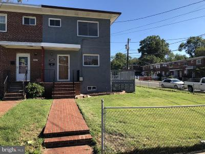Oxon Hill Single Family Home Active Under Contract: 4914 Winthrop Street